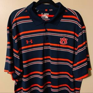 Auburn University polo Under  Armour shirt  2XL